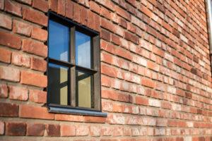 Thermisch onderbroken stalen raam
