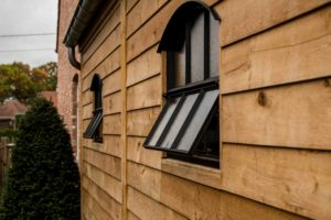 Bijgebouw – Stalen raam